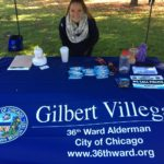 Gilbert Villegas sponsors Break the Silence Walk in Portage Park