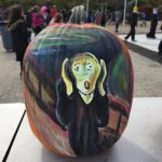 The Scream Pumpkin